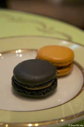 And of course, by the time the macarons came, I could hardly take another bite of something sweet.