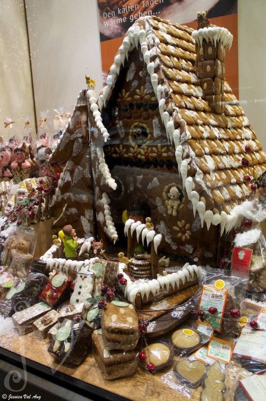 Massive gingerbread house!